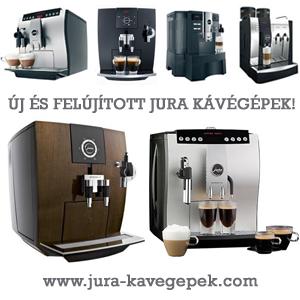 Jura kávégépek garanciával
